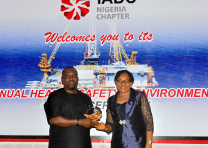 The IADC Nigeria Chapter recently awarded excellence in safety to several chapter members. Overall winner was Oando Energy Services. Mr. Bandele Badejo accepted the award on behalf of the company.