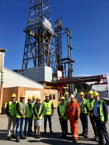 On 12 April, attendees from the Cybersecurity Workshop were invited to tour the ULLRIGG Drilling and Well Centre.