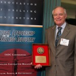Weatherford's Don Hannegan was recognized for his leadership on the IADC UBO & MPD Committee.